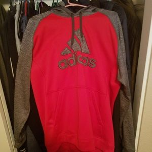 Addidas hooded sweatshirt